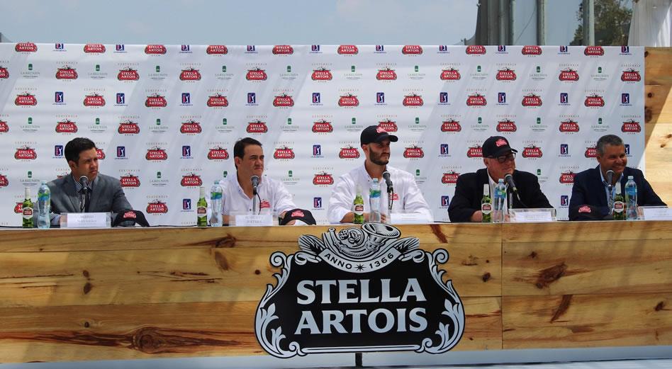 A la conferencia de prensa de lanzamiento del Guatemala Stella Artois Open 2017 asistieron representantes de los principales medios de comunicación del país. (Cortesía Douglas Herrera)