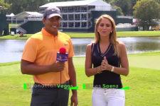 Jhonattan Vegas e Inés Sáenz (cortesía Azteca Deportes)