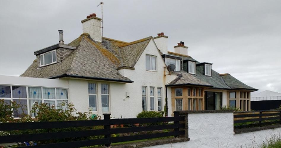 Una casa de 1878 que resiste en medio del campo de golf en el Abierto Británico