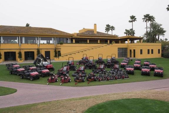 El club andaluz ha adquirido maquinaria de la marca Toro, especialista mundial en el mantenimiento de campos de golf