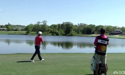 Video: Grillo envía dos bolas al agua y luego lanza su hierro-3 camino a un cuádruple-bogey en Bay Hill
