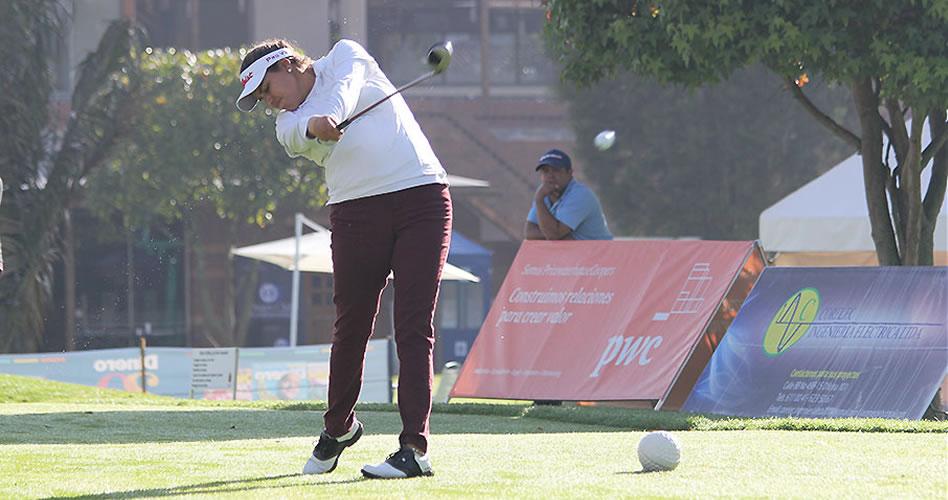 Alejandra Cangrejo y Paula Hurtado, sobre par en el inicio del POC MED Golf Classic