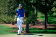 Jordan Spieth en el hoyo No. 7 (cortesía Augusta National Golf Club)