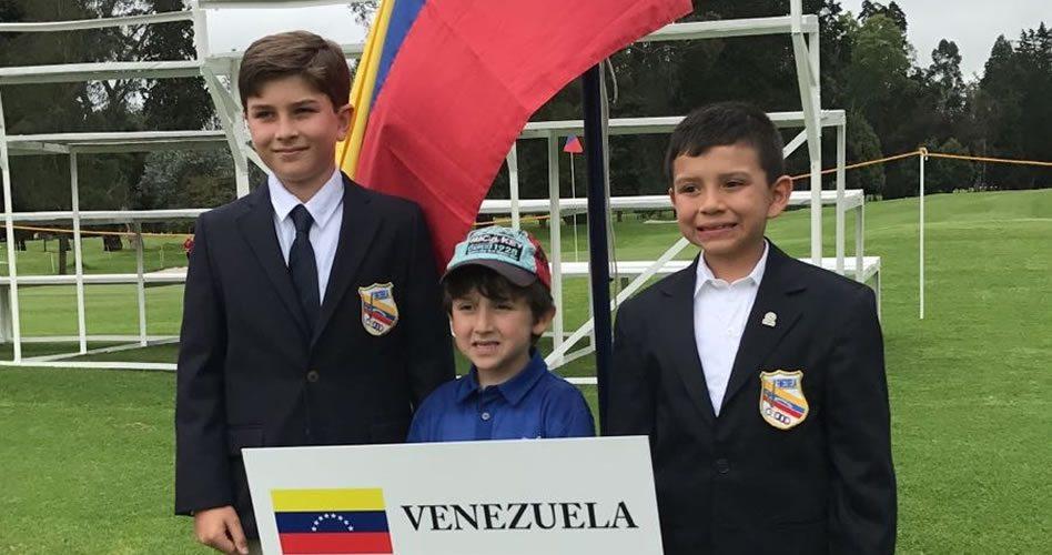 Dos venezolanos destacaron en torneo infantil de colombia