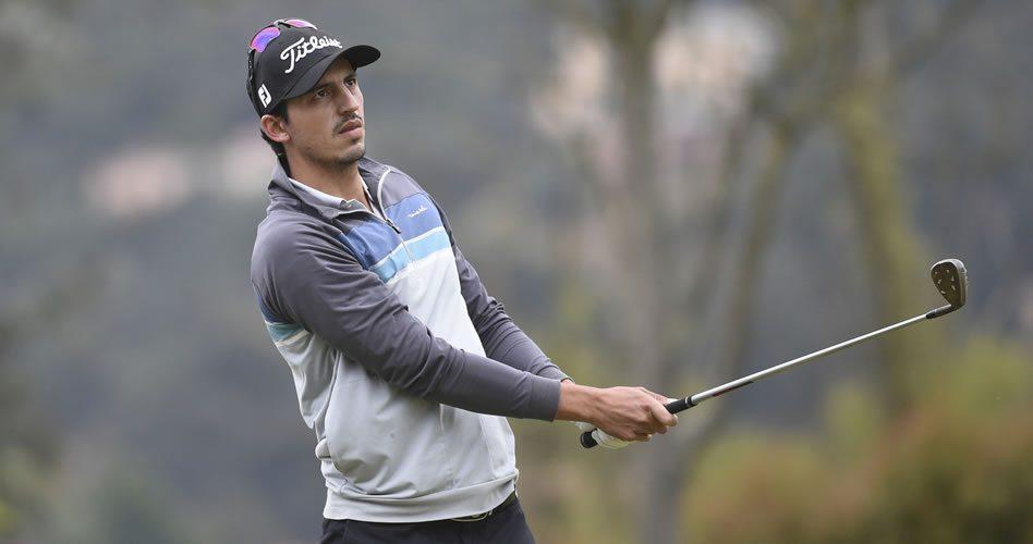 El antioqueño David Vanegas, el ganador al final en el Abierto Opita de Golf