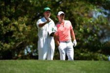 Rory McIlroy en el hoyo 4 (cortesía Augusta National Golf Club)