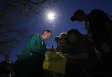 Danny Willet (cortesía Augusta National Golf Club)
