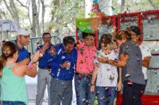 Golfistas de la AGVM celebran su triunfo en Six Flags