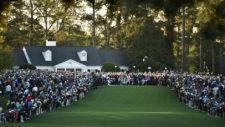 Jack Nicklaus y Gary Player inician el Masters 2017 (cortesía Augusta National Golf Club)