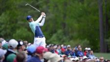 Jordan Spieth en el hoyo No. 12 (cortesía Augusta National Golf Club)