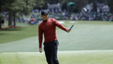 Rory McIlroy durante la primera ronda (cortesía Augusta National Golf Club)