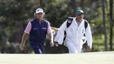 William McGirt y su caddie (cortesía Augusta National Gof Club)