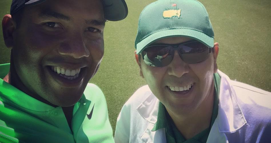 Jhonattan Vegas inicia su segunda participación en el Masters