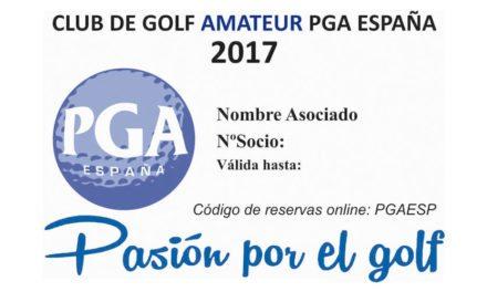 La PGA de España presentará en Unigolf su Tarjeta Club de Golf Amateur