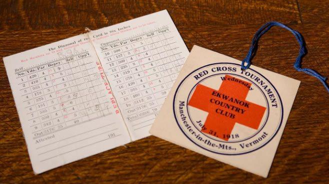 The Red Cross Tournament (cortesía Archivos USGA)
