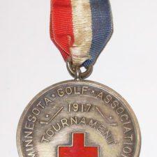 Medalla de Torneo del White Bear Golf Yacht Club (cortesía Golf Images Then & Now)