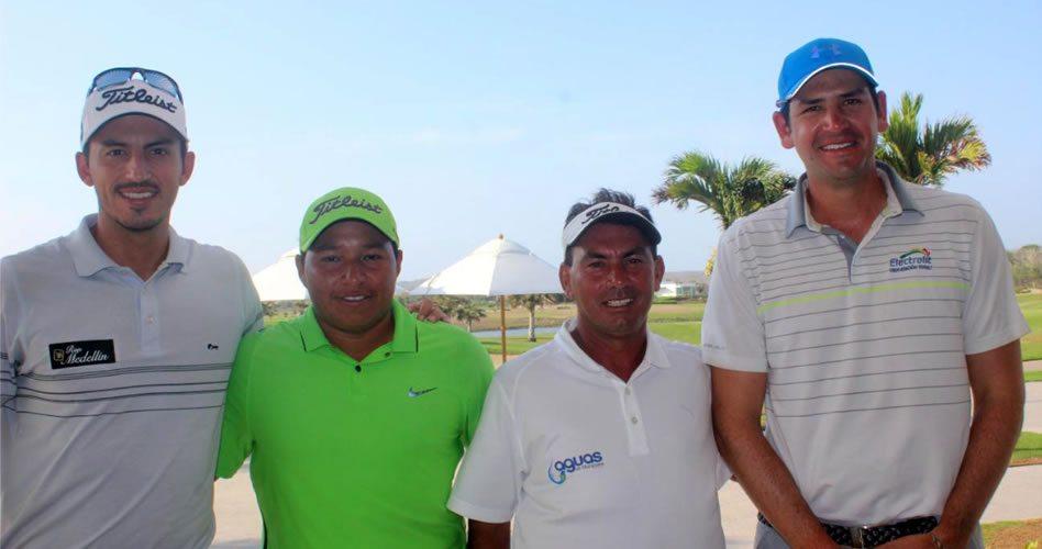 59 profesionales del golf llegaron hoy al campo TPC Cartagena a jugar el I Abierto TPC Cartagena y la I Parada del Tour Profesional Colombiano