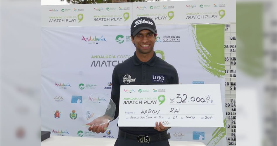 Aaron Rai se corona en el Andalucía Costa del Sol Match Play 9