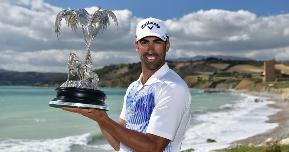 Álvaro Quirós vuelve a ganar en el European Tour