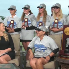 Arizona State se titula en el NCAA Women's Golf Championship (cortesía Golf Channel)