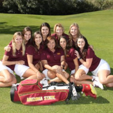 Arizona State se titula en el NCAA Women's Golf Championship (cortesía Sun Devil Club)