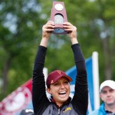 Mónica Vaughn (cortesía NCAA.com)