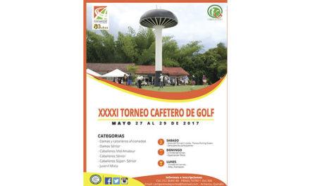 Así se juega este fin de semana el 41° Torneo Cafetero de Golf en Armenia