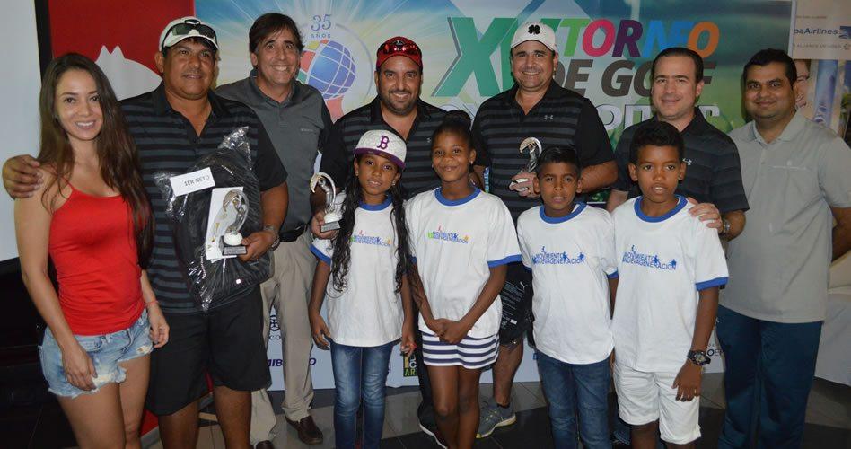 Cámara de Comercio, Industrias y Agricultura de Panamá celebró su XV Torneo de Golf Expocomer