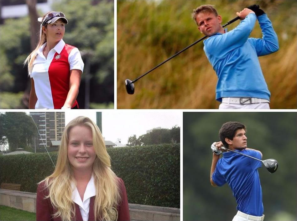 Conoce a los 8 peruanos que consiguieron una beca en EE.UU. gracias al golf