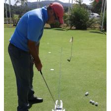 El AimPoint de Salazar está en el Golf panameño