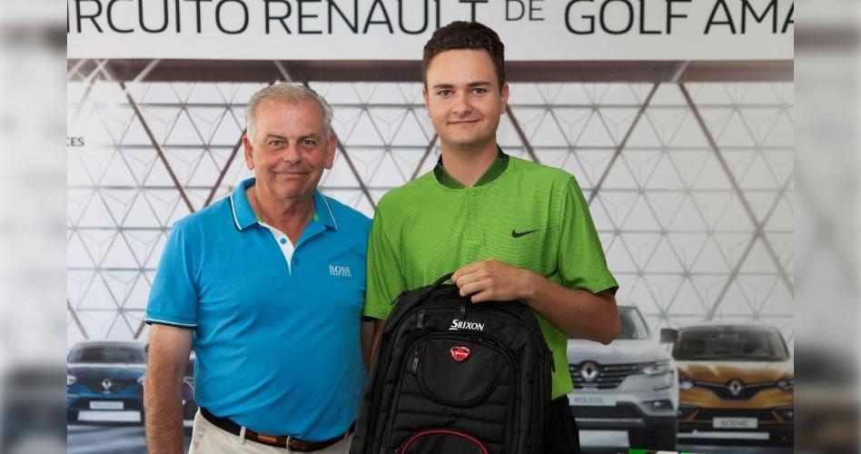 El Circuito Renault de Golf Amateur celebró en Granada el torneo más competido del año
