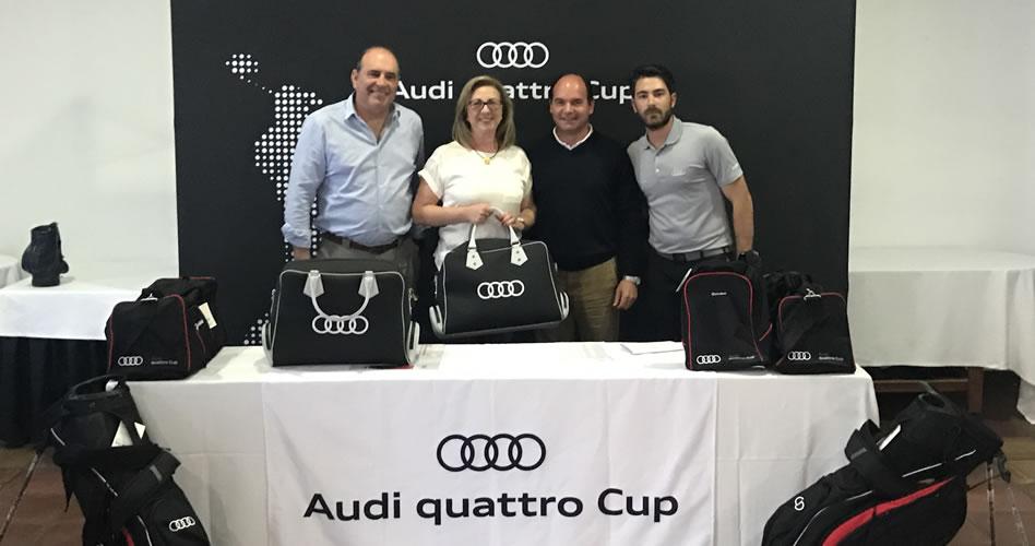 Audi Quattro Cup Escorpión Golf -  Elegancia, Pilar Albert Alabau y Alfredo Granell