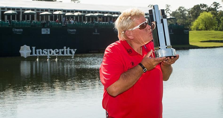 John Daly consigue su primer título del PGA Tour Champions en el Insperity Invitational