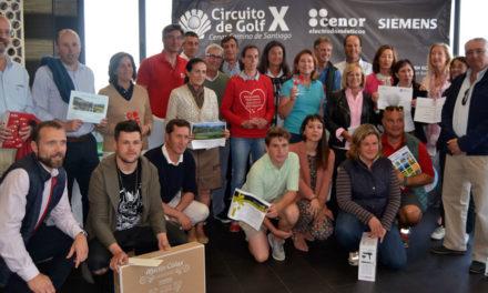 La capital cántabra acoge la tercera prueba clasificatoria del X Circuito de Golf Cenor – Camino de Santiago