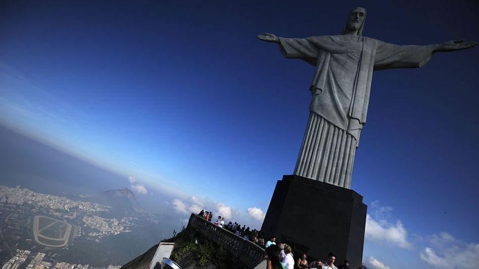 El turismo representa el 3,3% de la economía de Brasil.