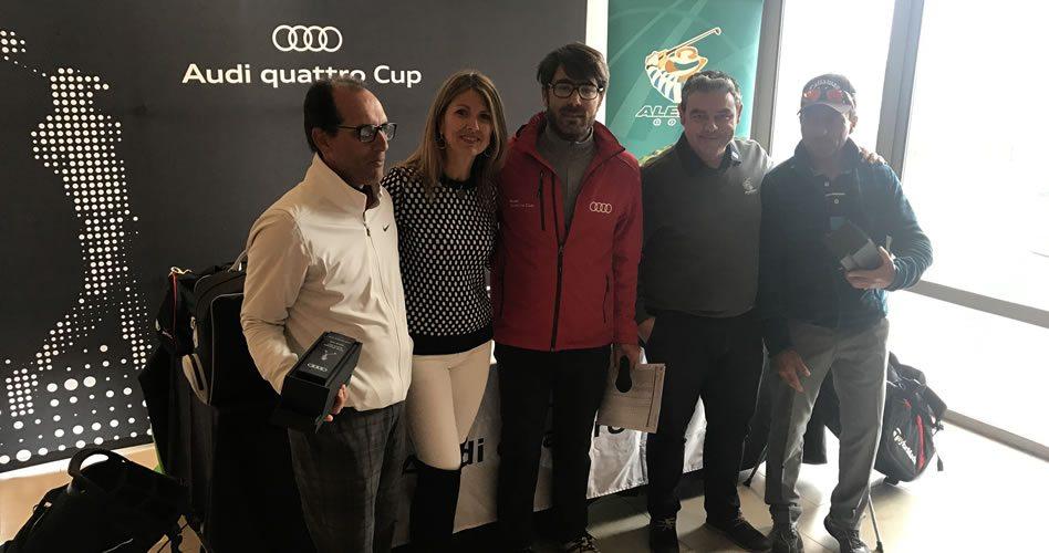 Más de 100 participantes en la quinta prueba del Audi Quattro Cup en Alenda Golf
