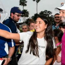 Sergio Garcia con fans (cortesía Ryan Young - PGA TOUR)