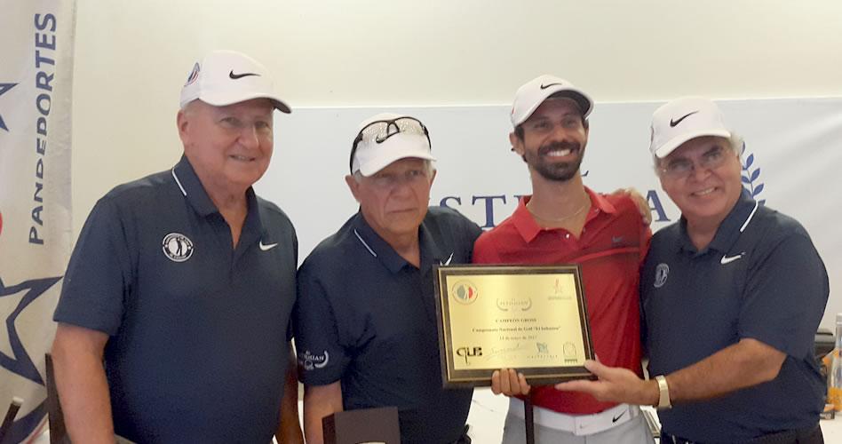 Ordóñez es el dueño del Golf aficionado Panameño