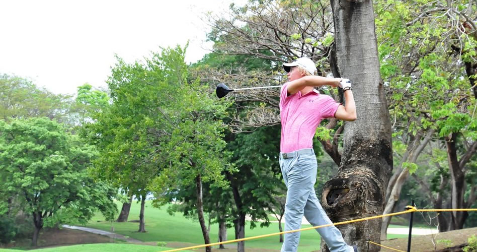 Paul Chaplet resalta en fecha del PGA Tour Latinoamérica en Costa Rica