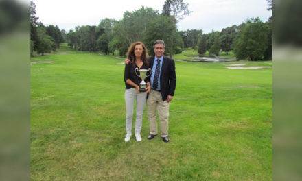 Tercer título consecutivo para María de Orueta en el Campeonato de España Individual Senior Femenino