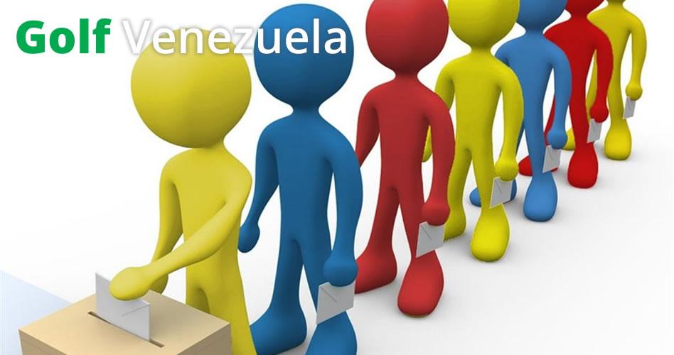 ¿Tiene sentido el padrón electoral propuesto para elegir las autoridades del golf en Venezuela?