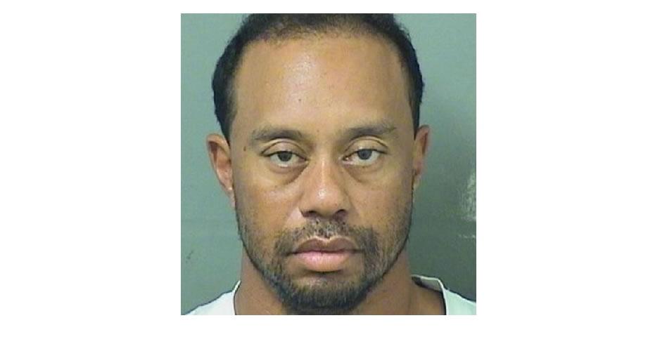 Tiger Woods es arrestado por conducir bajo los efectos del alcohol en Florida