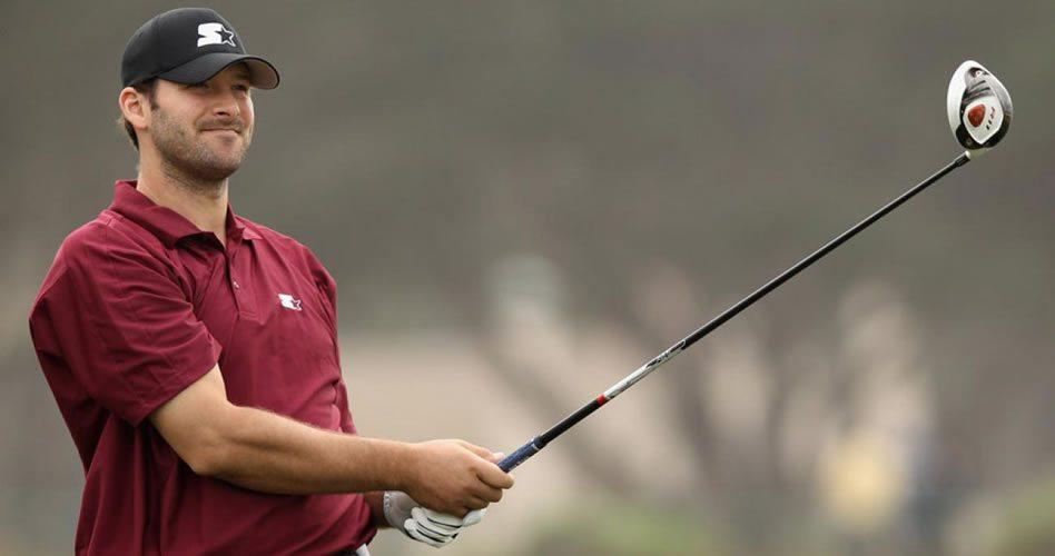 Tony Romo, del fútbol americano al US Open