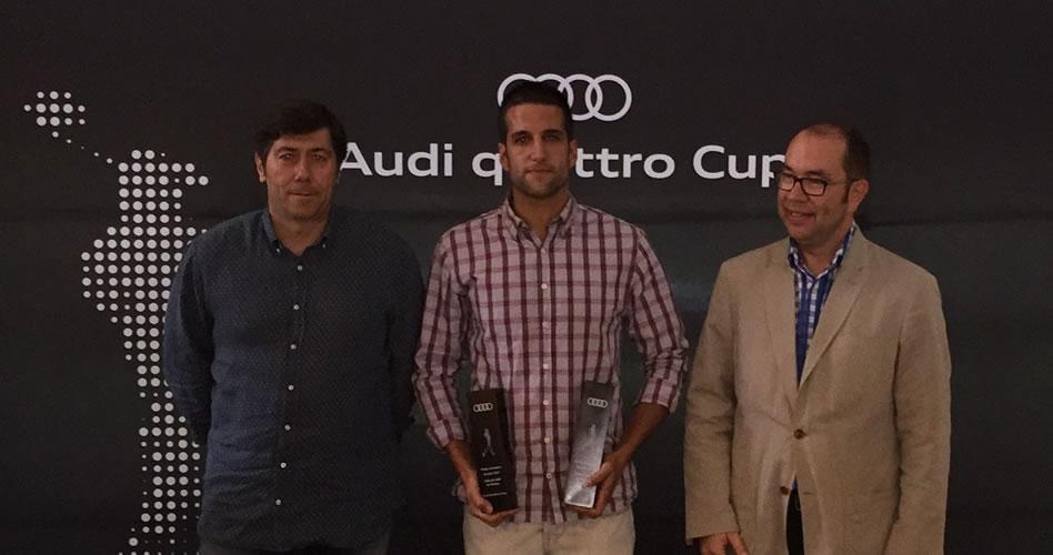 300 golfistas desafían la Audi quattro Cup 2017 en La Peñaza y Ría de Vigo