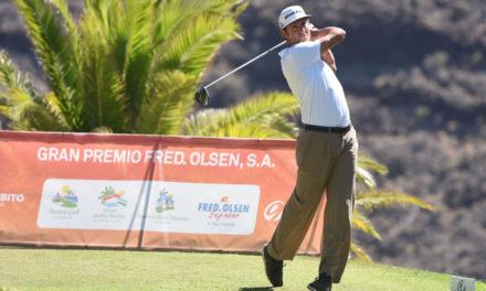 Alfredo García Heredia mantiene la cabeza tras la segunda ronda en el Fred. Olsen S.A.