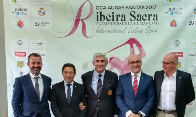 Amplia representación española en la quinta edición Ribeira Sacra Patrimonio de la Humanidad International Ladies Open que se disputará en Lugo
