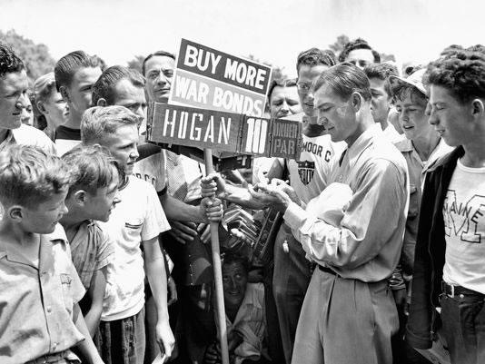 Ben Hogan en el Hale America National Open de 1942