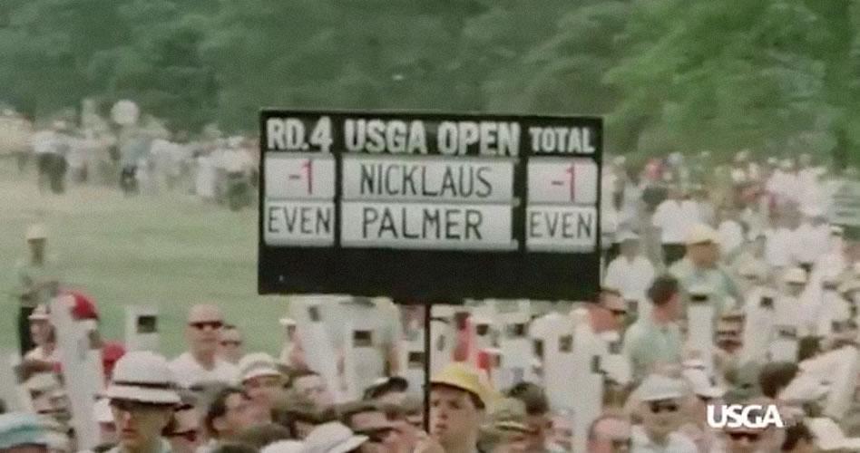 Así se conocieron Jack Nicklaus y Arnold Palmer hace 50 años atrás en una amistad que trasciende en el tiempo