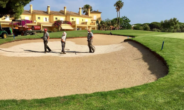 Better Billy Bunker, método elegido para reconstruir los bunkers del Campo Centro del Real Club de Golf Novo Sancti Petri