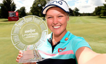 Brooke Henderson volvió a la victoria, en el Meijer LPGA Classic